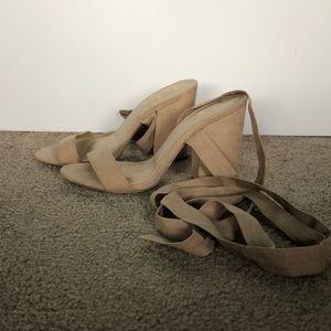 Lulus wrap up heels
